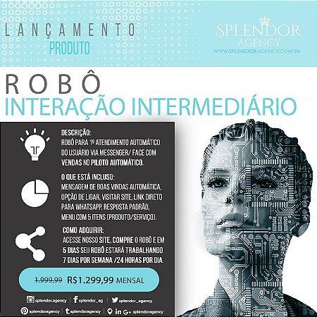 Robô de interação Intermediário