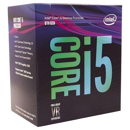 PROCESSADOR INTEL CORE I5 8600K 3.6GHZ (TURBO MAX 4.3GHZ) 9MB CACHE LGA1151 – BX80684I58600K
