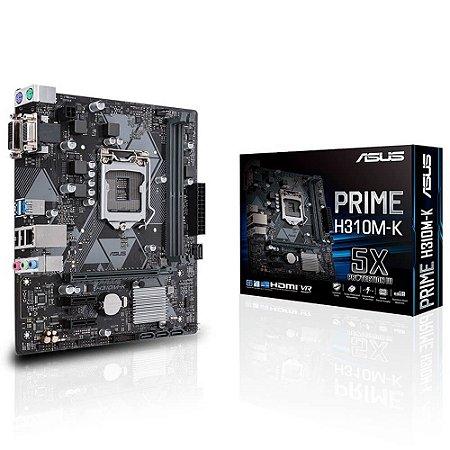 PLACA MÃE ASUS H310M-K DDR4 LGA 1151