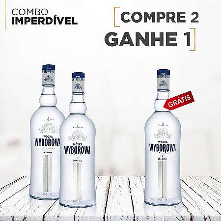 Vodka Wyborowa 750ml Compre 2 leve 3