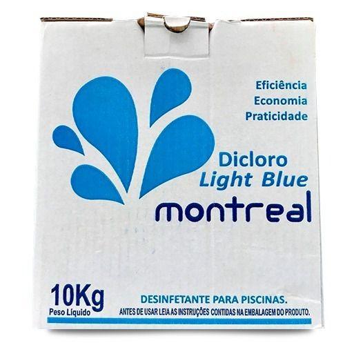 Cloro 10kg Refil  Light Blue Montreal