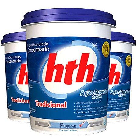 Cloro Granulado Concentrado Tradicional Hth 10kg