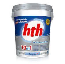 Cloro Hth 10em1 Multiação e Brilho 10Kg