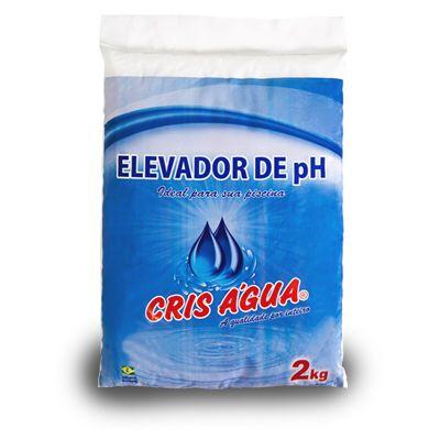 Elevador de Ph 2kg Cris Agua (BARRILHA LEVE)