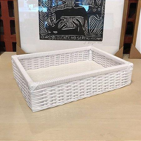 ROMANTIC BANDEJA 35x25x08
