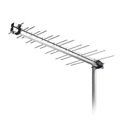 Antena Externa Aquario Lu-14p Log Periodica Digital Uhf/ Hdtv