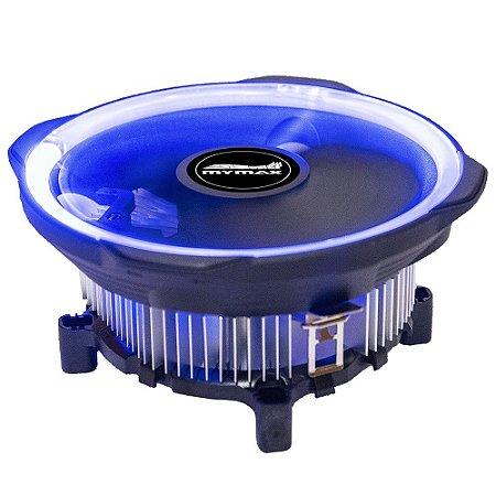 Cooler Universal Mymax para Intel e AMD Led Azul