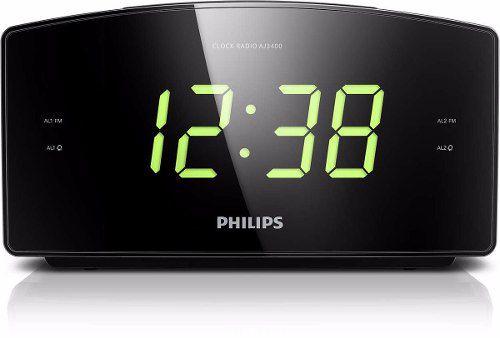 Radio Relogio Digital Philips Aj3400 - Bivolt