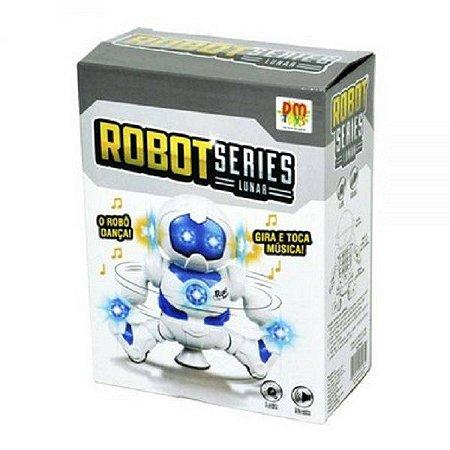 Robo Star Series 360º Com Som E Luz A Pilha