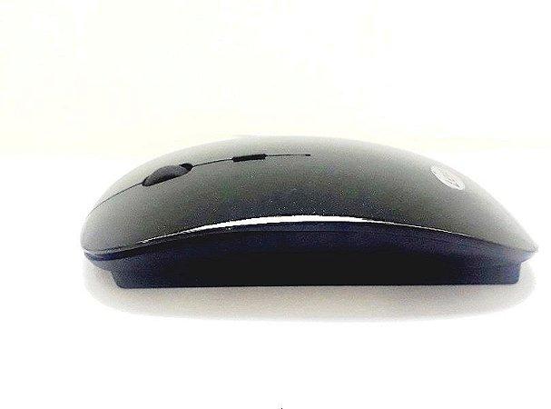 Mouse Sem Fio 2.4ghz Leyer Wm-08 Preto