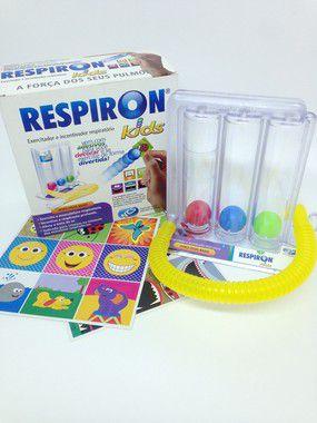 Exercitador respiratório e incentivador Respiron kids - NCS