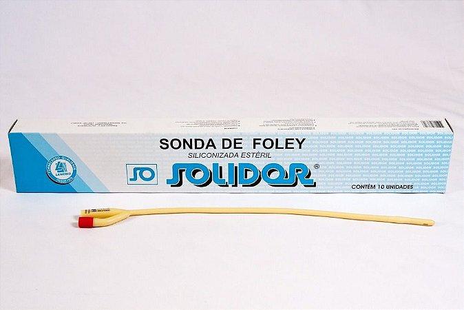 Sonda Foley látex siliconizada estéril - Solidor