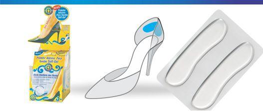 Protetor adesivo para tendão Soft-Gel - Orthopauher