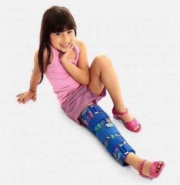 Imobilizador de joelho posição funcional infantil - Clantal