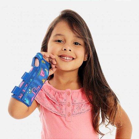 Tala para punho com dedos livres bilateral infantil - Chantal