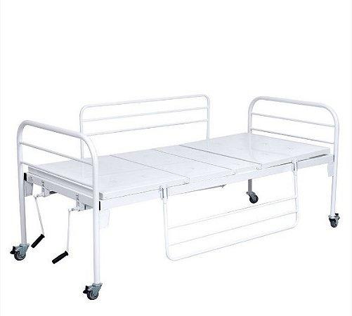 Cama hospitalar fawler standart com par de grades - Santa Luzia