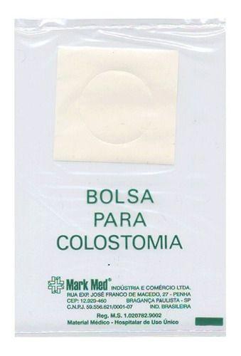Bolsa para colostomia com 10 unidades - Mark med
