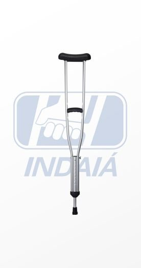 Muleta axilar de alumínio - Indaiá