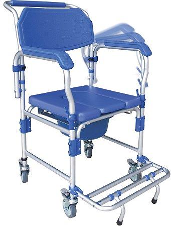 Cadeira para higiene D60 - Dellamed