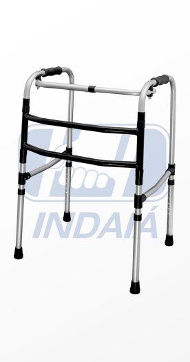 Andador articulado e dobrável 3 barras - Indaiá