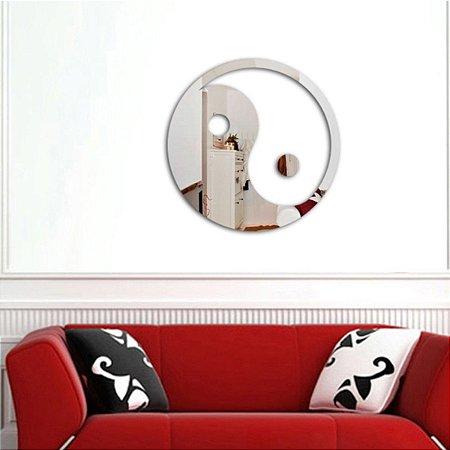 Espelhos Decorativos em Acrílico Yin Yang esp023