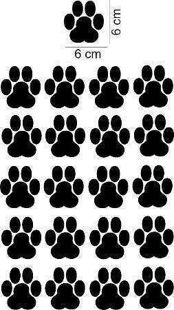 Adesivos de Parede Patinhas Gatos e Cachorros