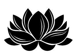 Adesivo de Parede Flor de Lótus
