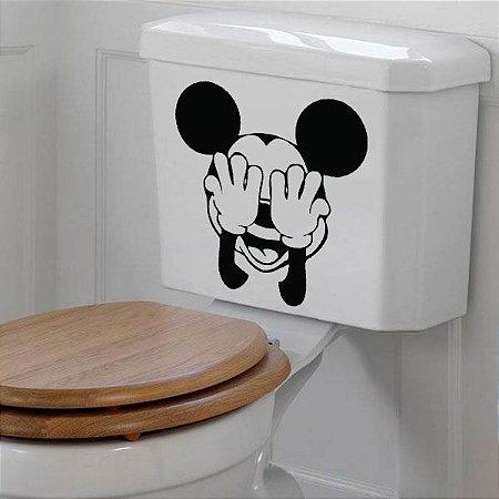 Adesivo para Banheiro Mikey Vaso Sanitário