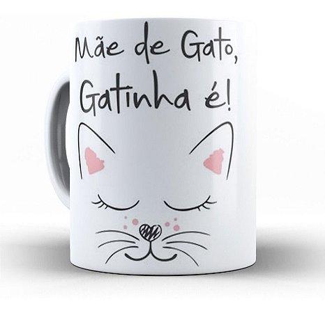 Canecas Personalizadas Mãe de Gato