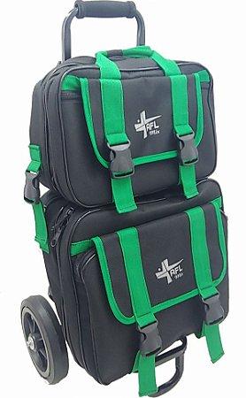 Kit com 10 Carrinhos com malas de ferramentas para uso profissional Mod 5 Sem Logotipo