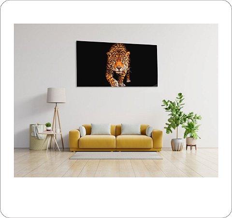 Quadro Decorativo Cavas Leopardo 1