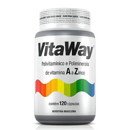 Vitaway - Polivitamínico A Z - 120 Cáps