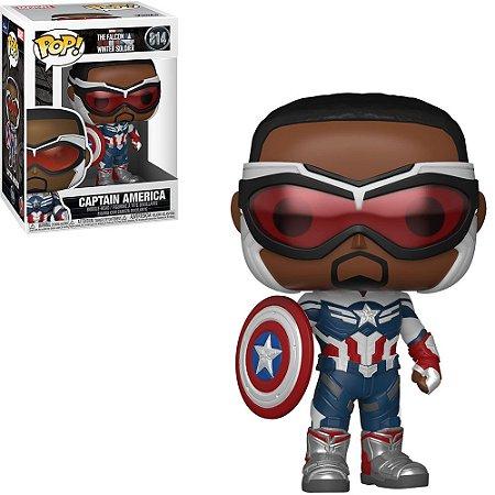 Funko POP The Falcon Winter Soldier: Captain America 814