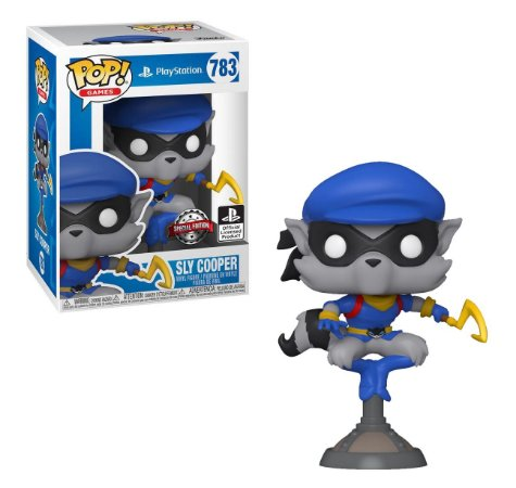 Funko POP Games Playstation: Sly Cooper 783