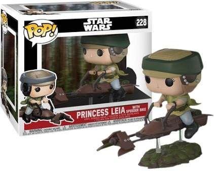 Funko Star Wars: Leia with Speeder Bike Nº 228