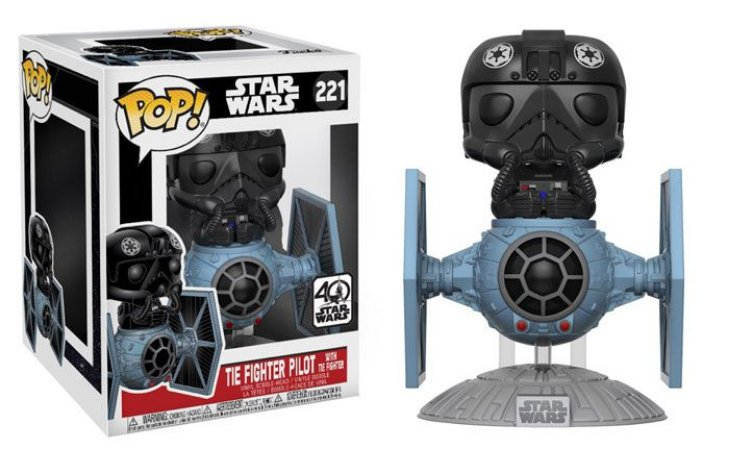 Funko Star Wars: Tie Figther Pilot with Tie Figther  Nº221
