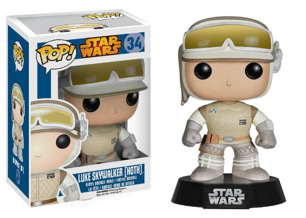 Funko Pop Star Wars: Luke Skywalker Hoth Nº 34