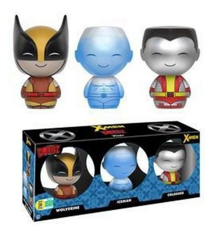 DORBZ 3 Pack X-Men - Wolverine Iceman Colossus - SDCC 2016