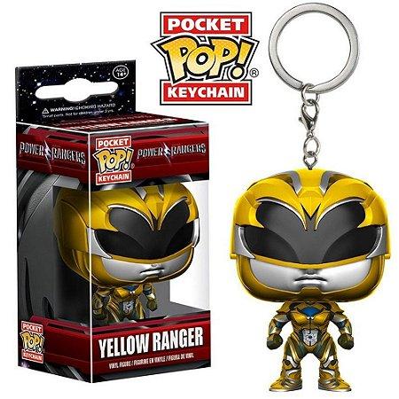 Funko Chaveiro Power Ranger: Ranger Yellow