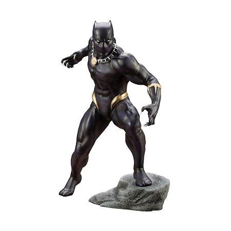 Kotobukiya - Black Panther Avengers Marvel Comics ArtFX + Statue