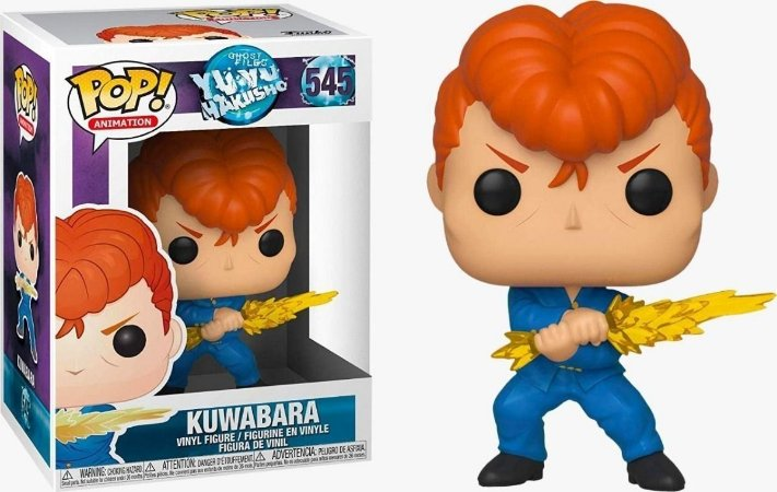 Funko Pop Ghost Files YuYu Hakusho: Kuwabara 545
