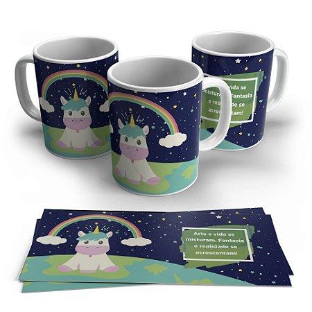Caneca Personalizada: Unicornio