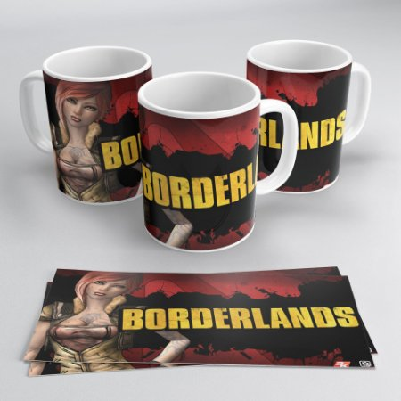 Caneca Personalizada: Borderland
