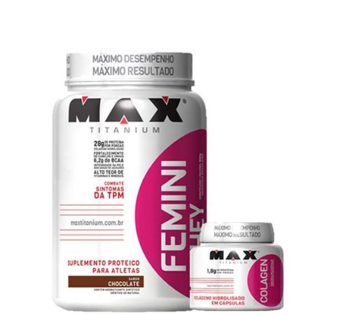Combo Max Titanium - FEMME