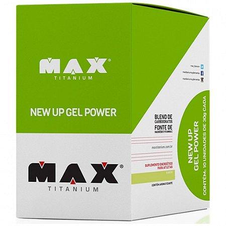 New Up Gel Power - 10 Sachês - Max Titanium-