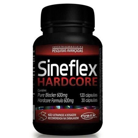 Sineflex HARDCORE - Power Supplements - 150 Cápsulas