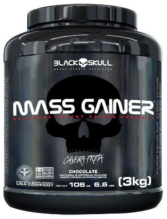 mass gainer 3kg blackskull baunilha