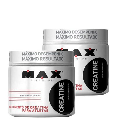 Combo 2 Creatine 300g - Max Titanium