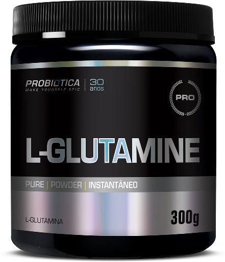 Glutamina Probiótica L-glutamine - 300g