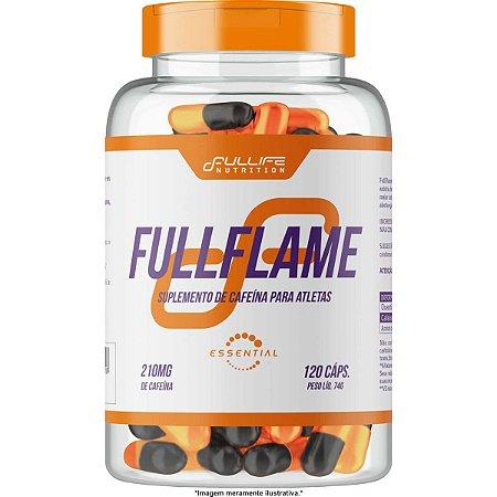 Cafeína 120 cápsulas Full Flame 210mg